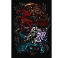 Elemental Dragons Photographic Print