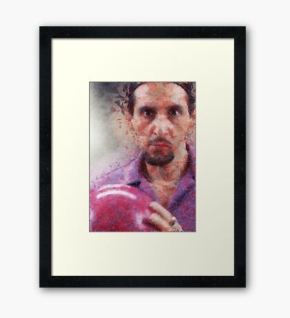 Big Lebowski - The Jesus Framed Print