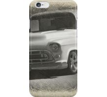 1956 Chevrolet Stepside Pickup Sketch 1 iPhone Case/Skin