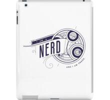 I Am A Nerd iPad Case/Skin