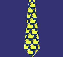 HOW I MET YOUR MOTHER DUCKIE TIE STICKERS, CASES by leagueoftshirts