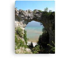 Arch Rock, Mackinac Island, Michigan Canvas Print