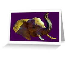 Elephant Elegance - WhatIf Design and More Greeting Card