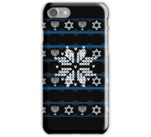 Hanukkah Ugly Sweater T-Shirt, Funny Gift For Men Or Women T-Shirt iPhone Case/Skin