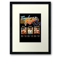 Final Fight Framed Print