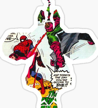 Spider-Man Hanging Sticker