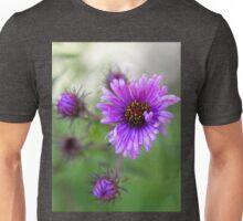 New England Fall Aster Unisex T-Shirt