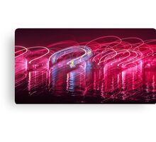 Dancing Lights one Canvas Print