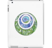 water and earth iPad Case/Skin