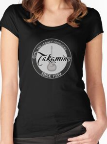 Takamine guitar Women's Fitted Scoop T-Shirt