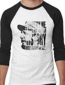 fidel castro Men's Baseball ¾ T-Shirt