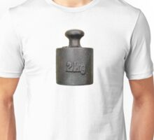 Balance weight - two kilograms Unisex T-Shirt