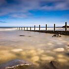 Seaham Beach in Clear Water by Angie Morton
