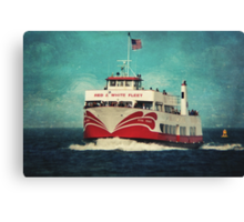 Missed the Boat Canvas Print
