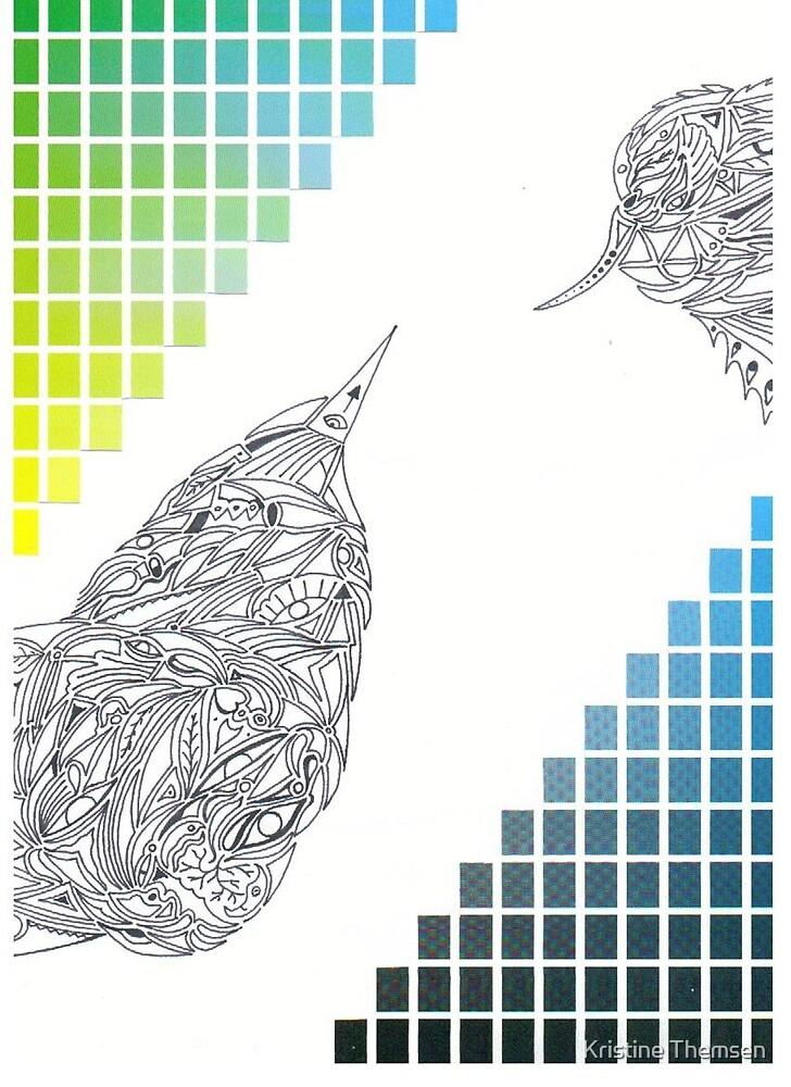 Colour Birds by Kristine Themsen