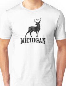 Michigan T-shirt - Stag Deer Unisex T-Shirt