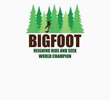 Bigfoot Sasquatch Hide and Seek World Champion Unisex T-Shirt
