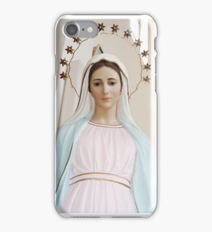 Mary of Medjugorje iPhone Case/Skin