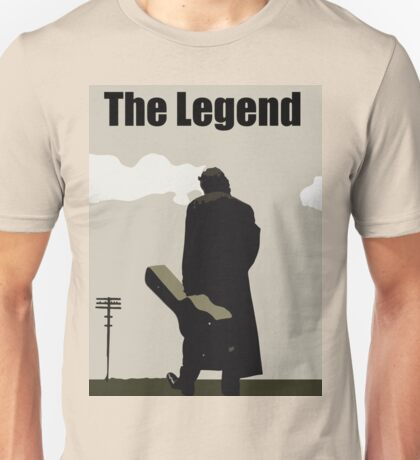 Johnny Cash the Legend Unisex T-Shirt
