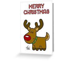 Reindeer - Christmas Card Greeting Card