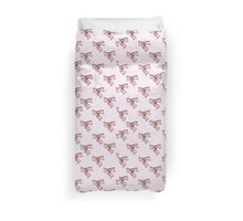 bows on a white background Duvet Cover