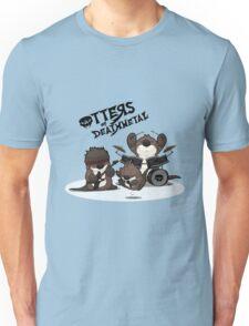 OTTERS OF DEATHMETAL v.1 Unisex T-Shirt