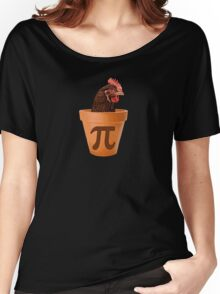 Chicken Pot Pi  Women's Relaxed Fit T-Shirt