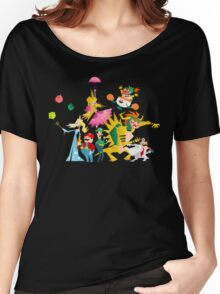 Mushroom Kingdom Smashers Women's Relaxed Fit T-Shirt
