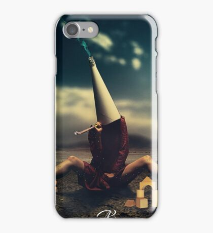 Conceptual Artowrk, woman and toys iPhone Case/Skin