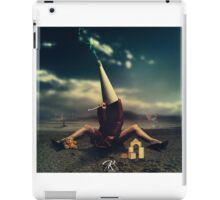 Conceptual Artowrk, woman and toys iPad Case/Skin