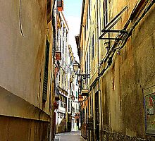 An Alley In Palma..................................Majorca by Fara