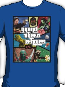 Grand Theft A-Holes   Guardians of the Galaxy T-Shirt