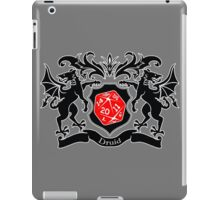 Coat of Arms - Druid iPad Case/Skin