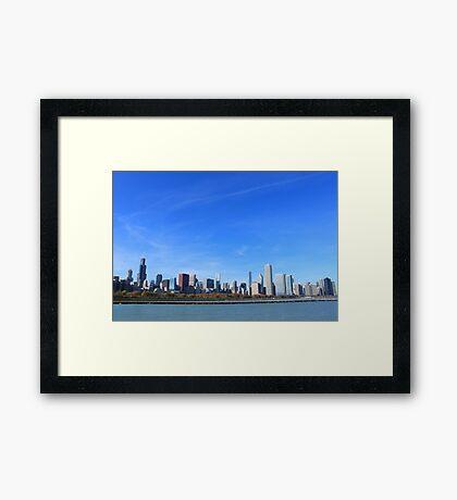 The Chicago Skyline Framed Print