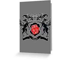 Coat of Arms - Monk Greeting Card
