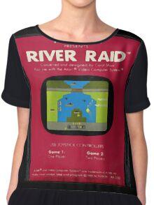 River Raid Cartridge Chiffon Top