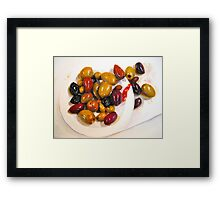 Salty not Sweet...A Still Life Painting... Framed Print