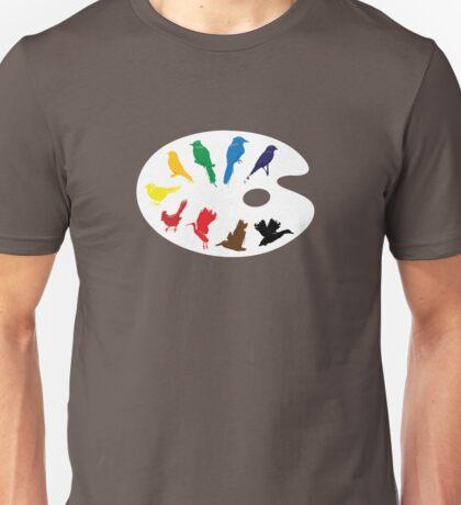 Bird Palette Unisex T-Shirt