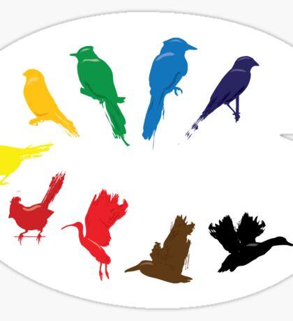 Bird Palette Sticker