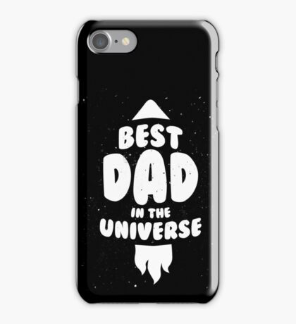 Best dad in the Universe iPhone Case/Skin