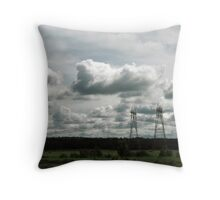 Dark Day Throw Pillow