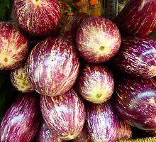 Aubergines..................................Plus Recipe by Fara