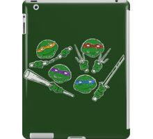 Ninja Doodles (Color) iPad Case/Skin