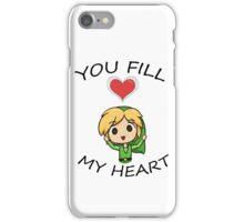 Legend of Zelda- You Fill My Heart! iPhone Case/Skin