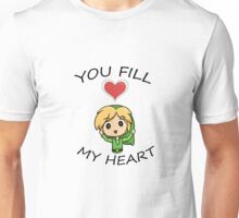 Legend of Zelda- You Fill My Heart! Unisex T-Shirt