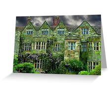 Manor House Staffordshire Greeting Card