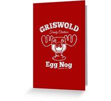 Griswold Christmas Egg Nog Greeting Card