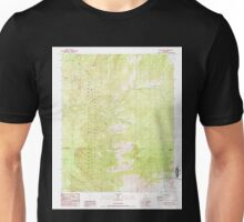 USGS TOPO Map California CA White Dome 295765 1987 24000 geo Unisex T-Shirt