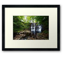 Glenariff Waterfall Co Antrim Northern Ireland Framed Print