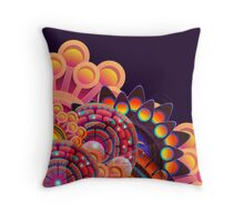 Funky Art Pattern Throw Pillow